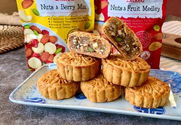 Recipe - Healthy Baked Five Nuts Mooncake