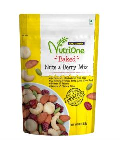 Nutrione Baked Nuts & Berry Mix (Unsalted) (