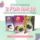 Sungift Bundles of 2 (Cranberry, Thompson, Medley, Dates, Prune, raisin cranberry) (UP: RM13.20)